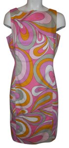 David Meister short dress multi print on Tradesy