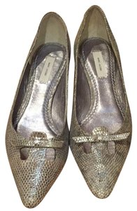 Marc Jacobs Party Silver Flats