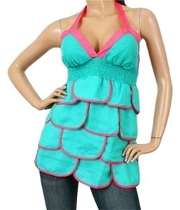 Si Style Top teal/pink