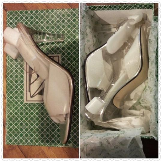 J.Rene'e Clear Pumps
