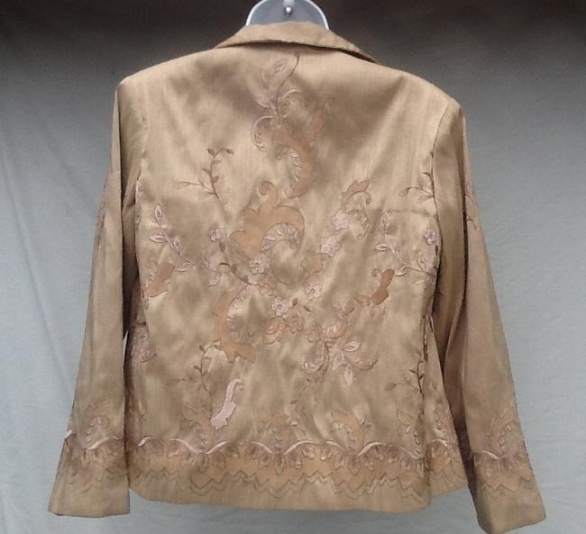Grace Chuang Gold Jacket
