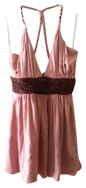 Preload https://item3.tradesy.com/images/sky-pink-with-leather-6161rx-night-out-top-size-8-m-352872-0-0.jpg?width=400&height=650