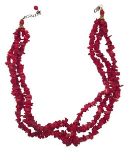 Other Red Coral Necklace