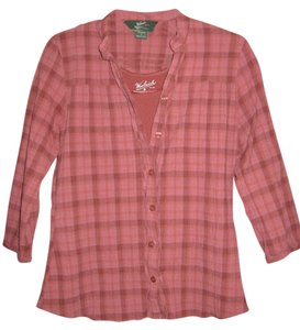 Woolrich Button Down Shirt Rose