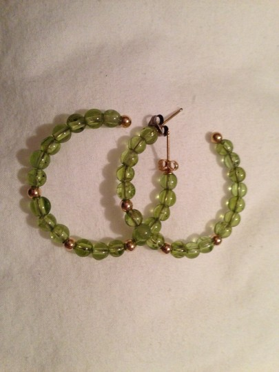 Other Genuine Peridot and Gold Earrings