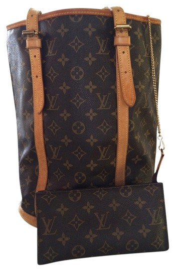 Preload https://item5.tradesy.com/images/louis-vuitton-bucket-canvas-pm-brown-shoulder-classic-monogram-lv-print-leather-tote-3531154-0-0.jpg?width=440&height=440