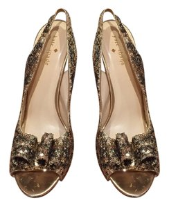 Kate Spade Gold Sequin Formal