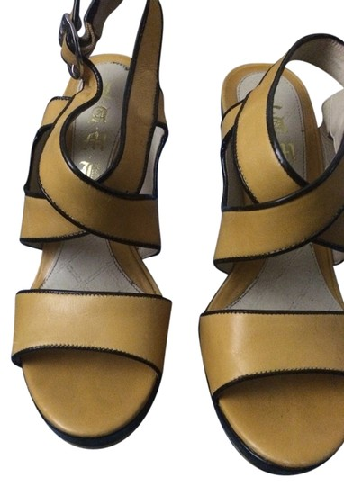 L.A.M.B. Goldenrod Yellow Sandals