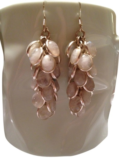 Other Genuine Moonstone drop earrings