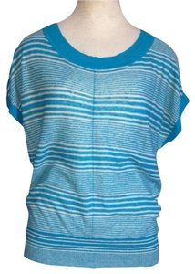 Banana Republic Top Blue and White