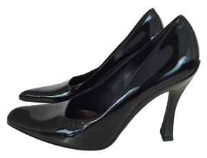 Prada Patent Leather Vintage Black Pumps