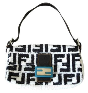 Fendi Sequined Sequined Handbags Baguette