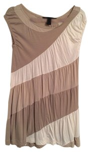 Marc by Marc Jacobs short dress Beige Striped on Tradesy