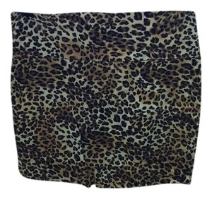 Wet Seal Mini Skirt Cheetah Print