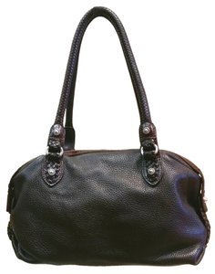 Brighton Braided Leather Shoulder Bag