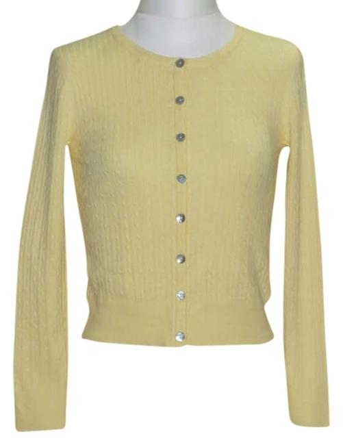 Item - Misses Size Small Yellow Sweater