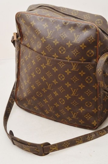 Louis Vuitton Vintage Cross Body Shoulder Monogram Lv Brown Messenger Bag