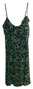 Apostrophe short dress Green-Multi on Tradesy