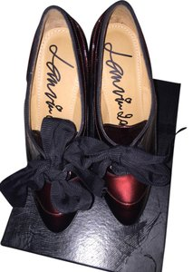 Lanvin Plum Pumps