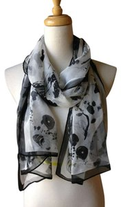 Gorgeous scarf Brand New Gorgeous black multi ink painting light weight scarf