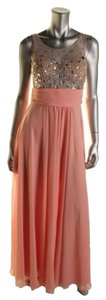 Pink Nude Maxi Dress by Blondie Nites
