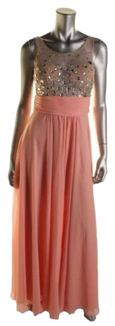 Preload https://img-static.tradesy.com/item/3535591/blondie-nites-pink-nude-formal-casual-maxi-dress-size-4-s-0-0-650-650.jpg