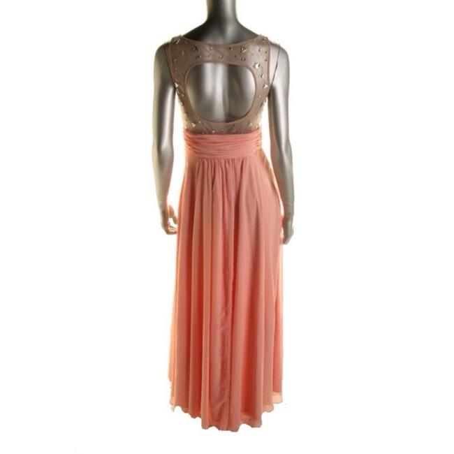 Pink Nude Maxi Dress by Blondie Nites Image 1