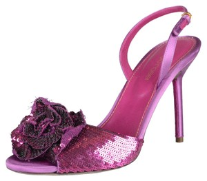 Sergio Rossi Purple Sandals