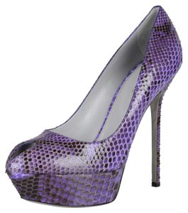Sergio Rossi Purple Platforms