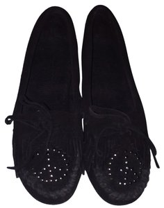 Minnetonka black Flats