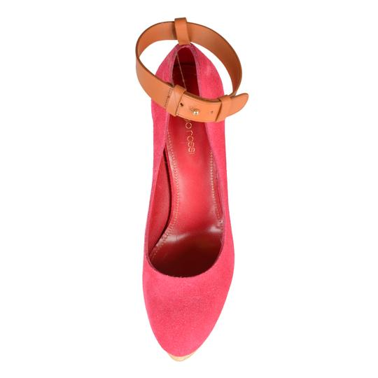 Sergio Rossi Pink Wedges