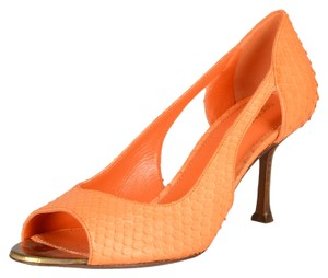 Sergio Rossi Orange Pumps