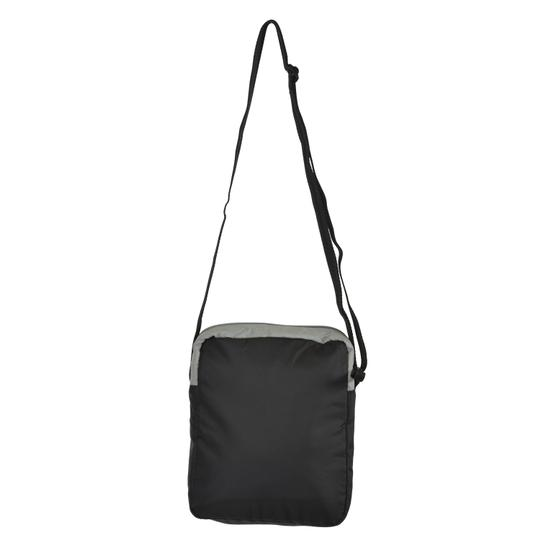 EA7 Emporio Armani Black Messenger Bag