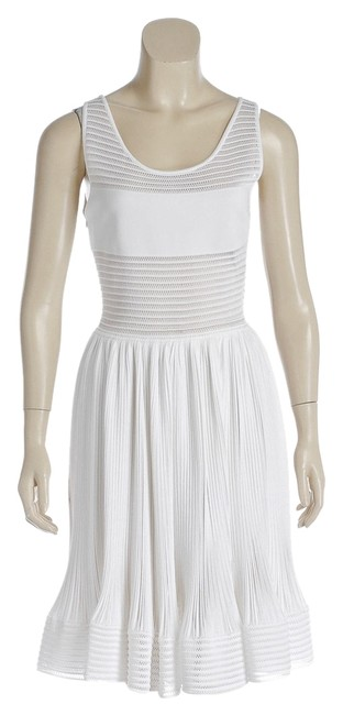 Preload https://item4.tradesy.com/images/alaia-white-flare-skirt-open-weave-38-new-3778-82-knee-length-short-casual-dress-size-18-xl-plus-0x-3536443-0-0.jpg?width=400&height=650