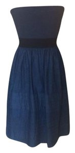 Theory short dress Denim on Tradesy