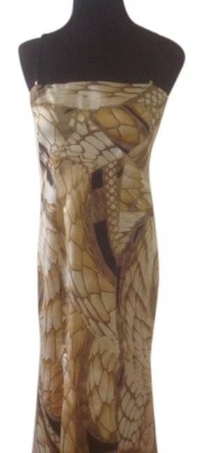 Gold Maxi Dress by Just Cavalli