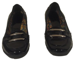 Aquatalia by Marvin K. Patent Leather black Flats