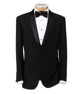 Jos. A. Bank Slim Fit Two Button Tuxedo With Plain Front Trousers