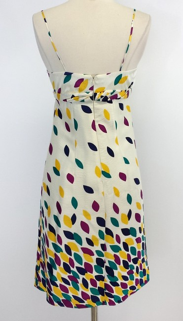 Shoshanna short dress Print Silk Spaghetti Strap on Tradesy
