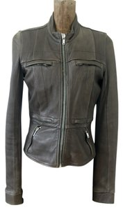 Rick Owens Leather Motorcyle Motorcycle Jacket
