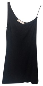 Zara short dress Shimmery Black on Tradesy