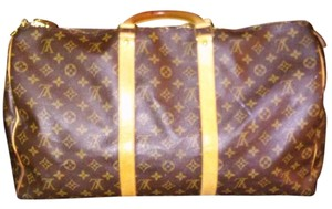 Louis Vuitton Keepall 50 Duffle Monogram Canvas Travel Bag