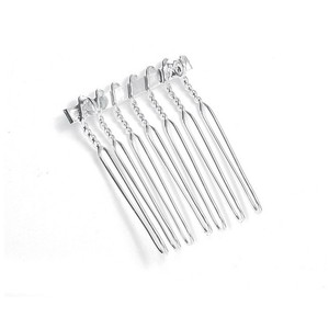 Mariell Silver Comb Adapter For 1 1/8