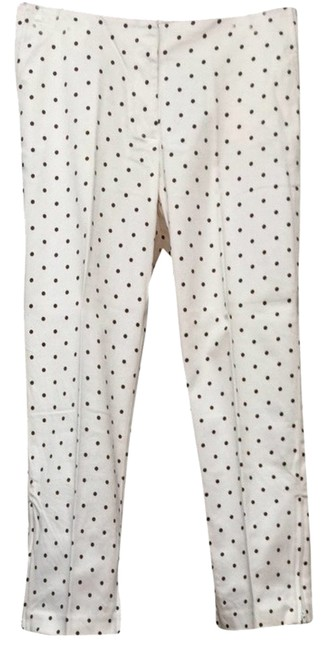 Other Capris White Polka Dot
