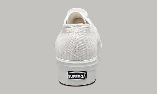 Superga 2790 ACOTW Linea Up and Down White Platform Athletic