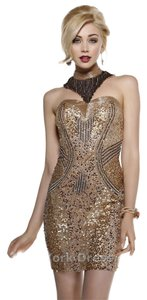 Shail K. Prom Cocktail Sequin Dress