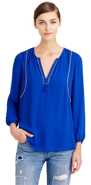J.Crew Top Royal Blue