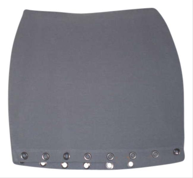 Material Girl Skirt Grey