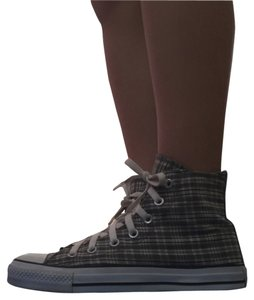 Converse Grey plaid Athletic