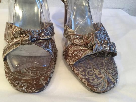 Spicy Footwear Brown and silver Sandals